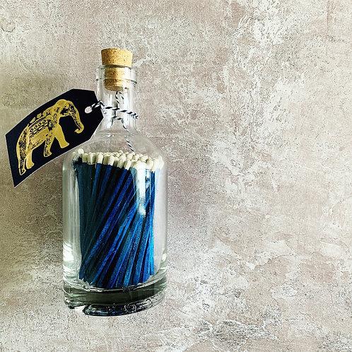 Luxury Bottled Matches - Elephant
