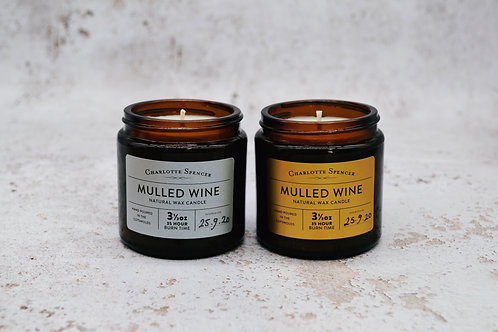 Mulled Wine 3.5 oz Natural Wax Candle