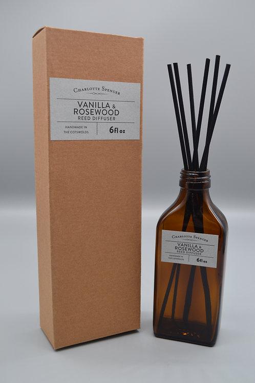 Vanilla & Rosewood Reed Diffuser