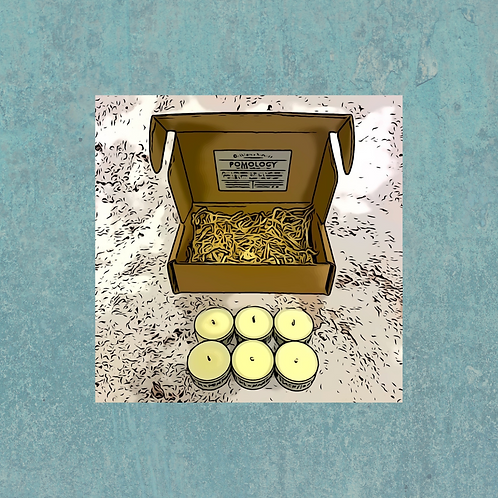 Tealight Gift Set POMOLOGY (FRUITS)