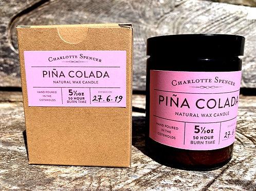 Pina Colada 5.5 oz Natural Wax Candle