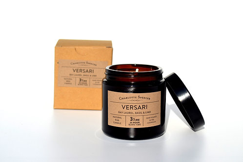 Versari 3.5 oz Natural Wax Essential Oil Candle