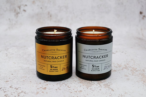 Nutcracker 5.5 oz Natural Wax Candle