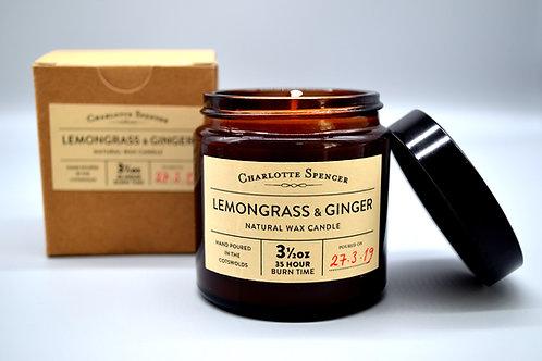 3.5oz Natural Wax Candles BOTANY (FLORALS)