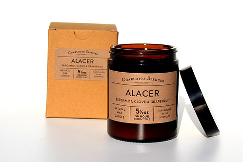 Alacer 5.5 oz Natural Wax Essential Oil Candle