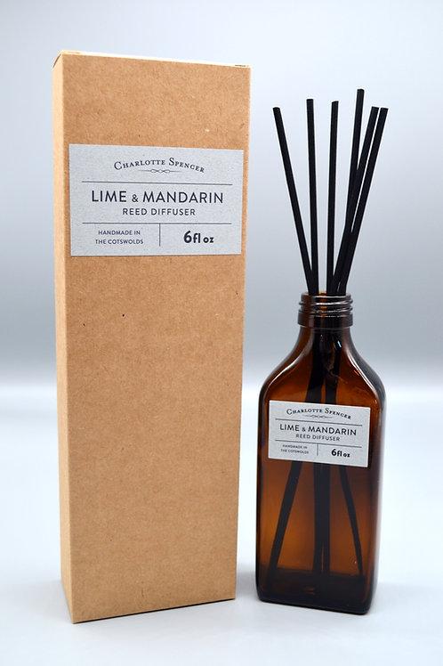 Lime & Mandarin Reed Diffuser
