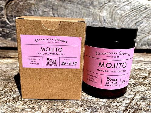 Mojito 5.5 oz Natural Wax Candle