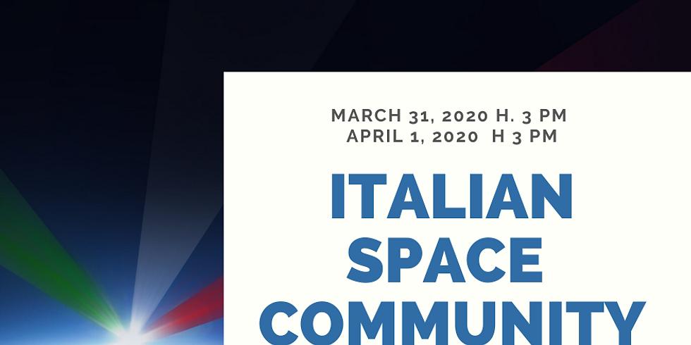 """""""APERITIVO"""", the ITALIAN SPACE COMMUNITY EVENT"""