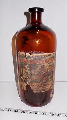 1920s Zanzibar Butterscotch Bottle