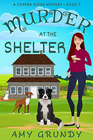 Murder at the Shelter - A Copper Ridge Mystery - Book Seven