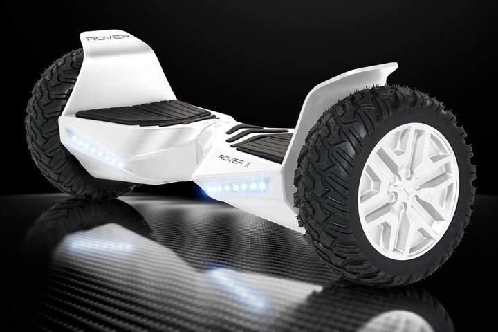 "Halo Rover X Hoverboard 8.5"" - White Edition"