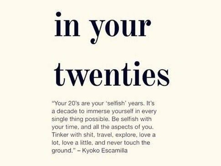 5 Mistakes I made in My Twenties