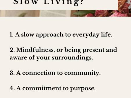 4 Reasons Why Slowing Down Will Actually Make You More Peaceful