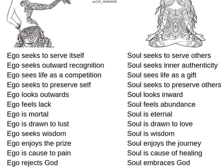 Ego Vs. Soul. How to make the Right  Decisions?