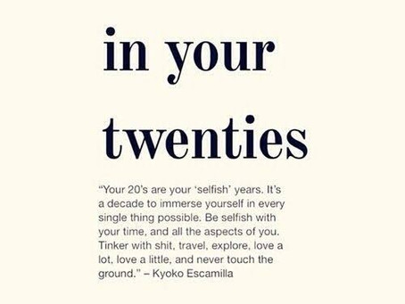 20 Life Lessons I learned in my Twenties - Birthday Special