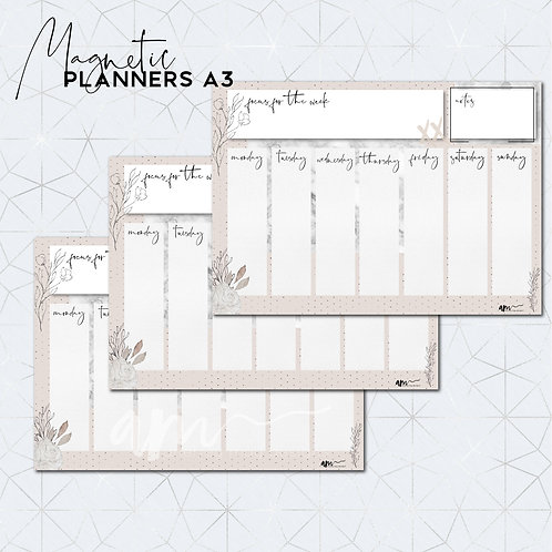 Chic Magnetic Planner
