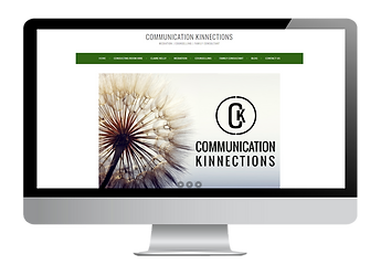 Communication Kinnections wesbite - by A