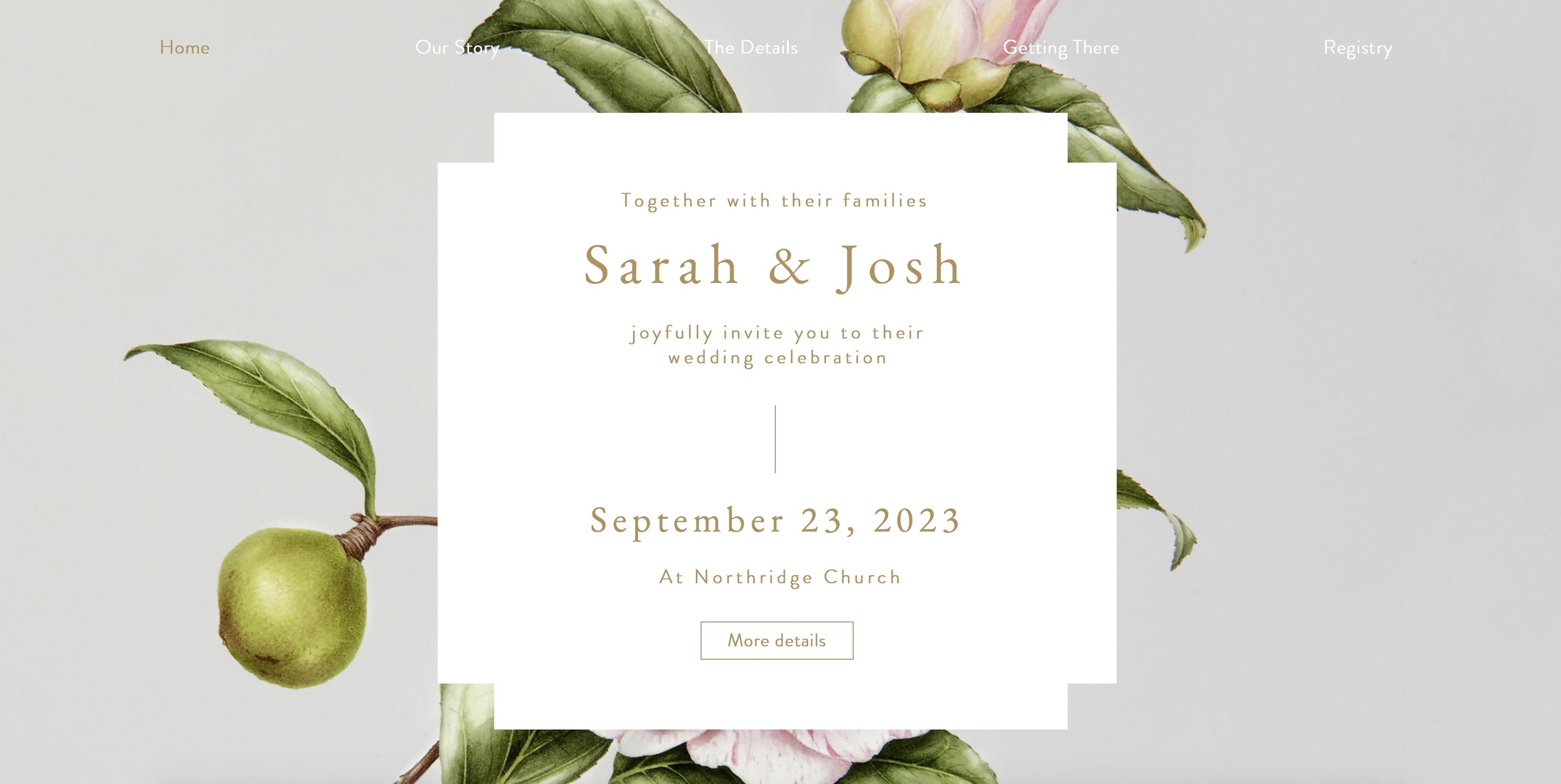 wedding rsvp 1