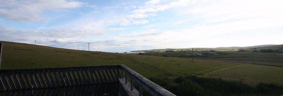View of Scapa Flow from Wardbay Self Catering
