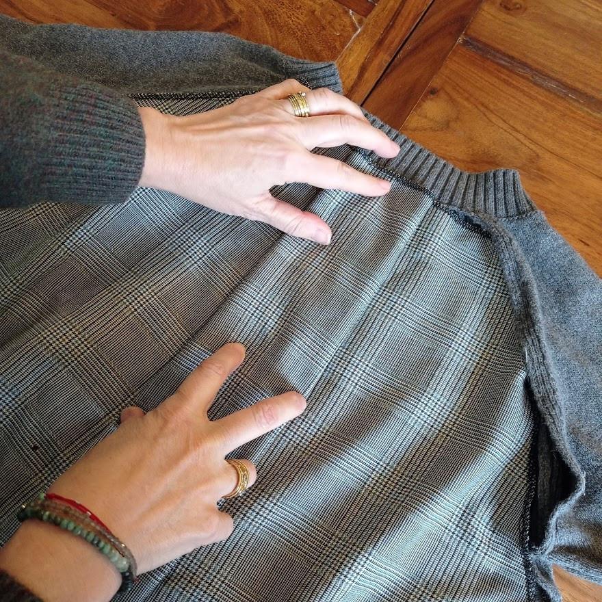 Measuring the pleats