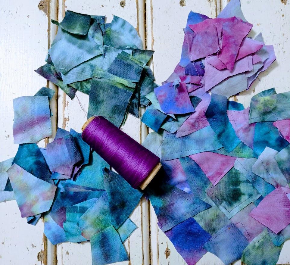 Purple thread