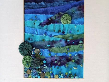 Painting Fabric Landscapes