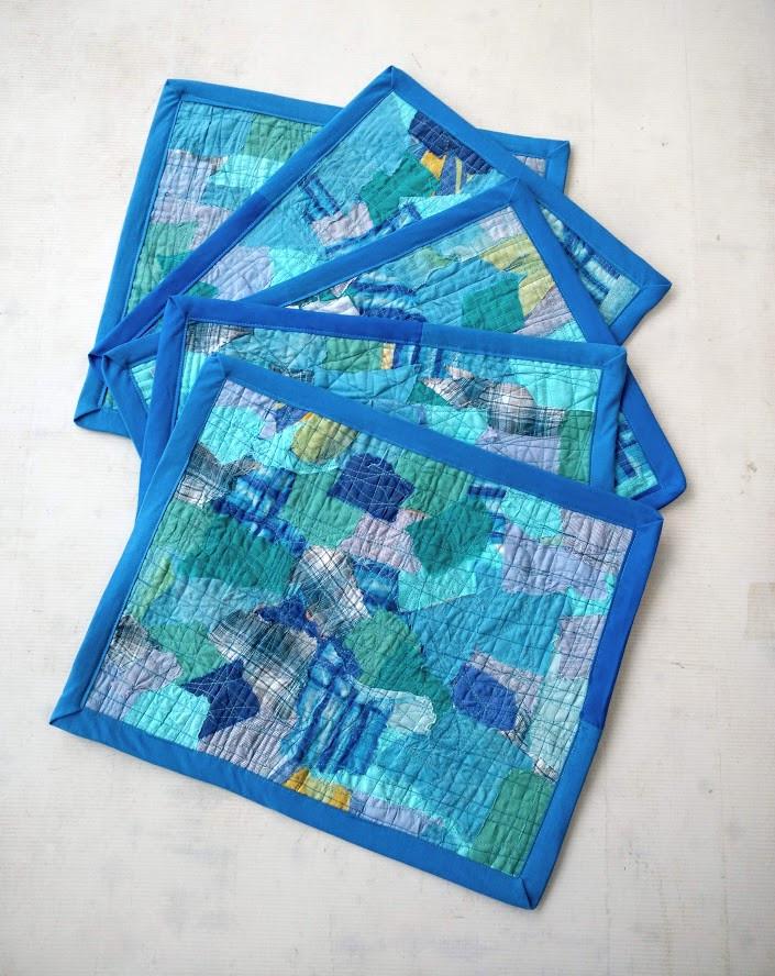 Mosaic placemats