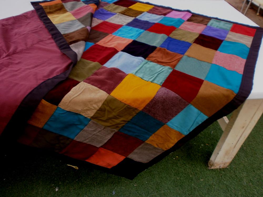 Gypsy patchwork throw