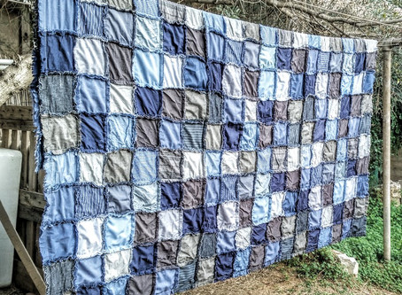 Making Rag Quilts