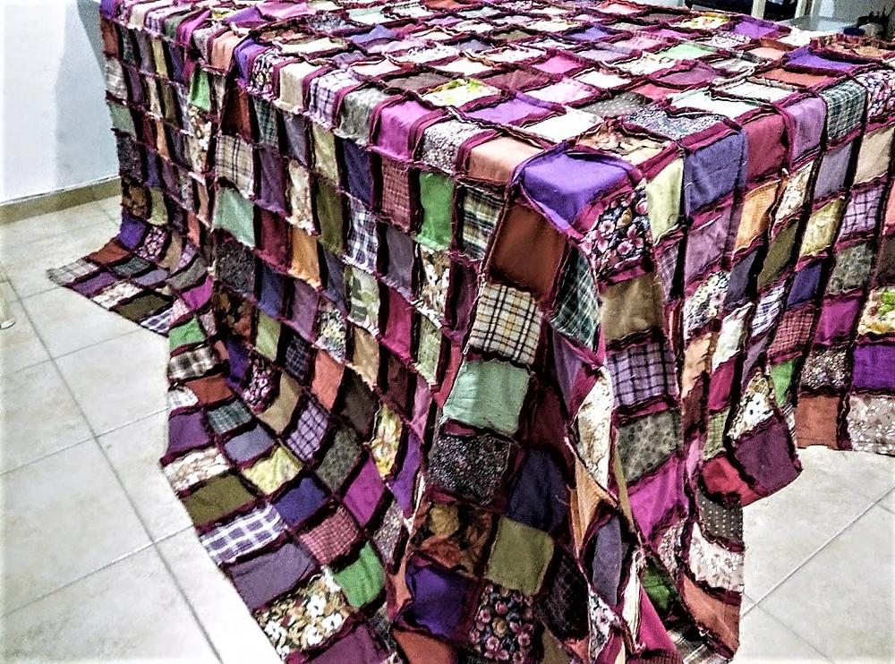 Autumn colored quilt