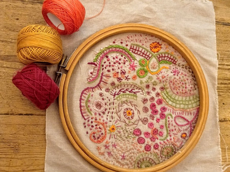 Slow Stitching Saturday