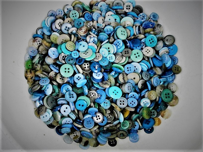 Ocean colored buttons