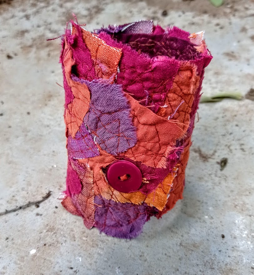 The completed cuff