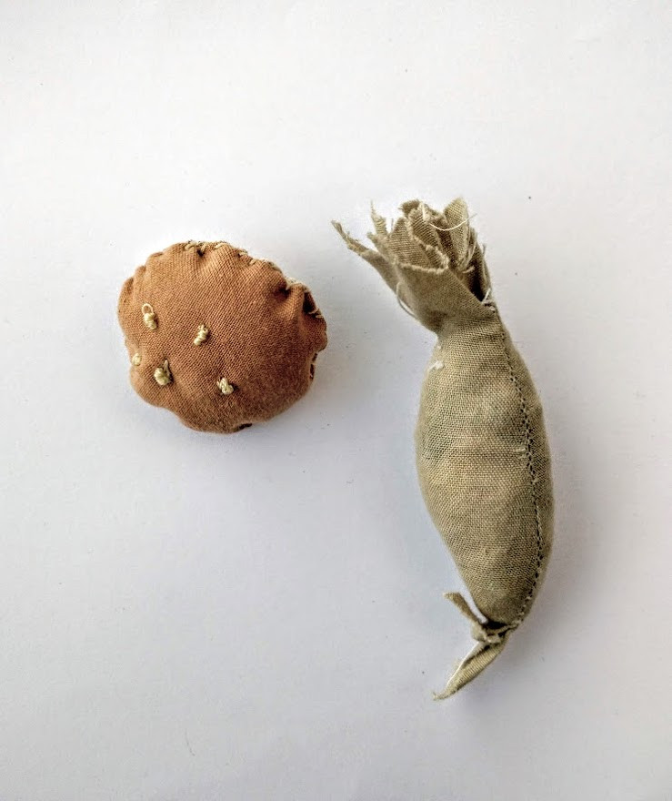 Mushroom stems and heads