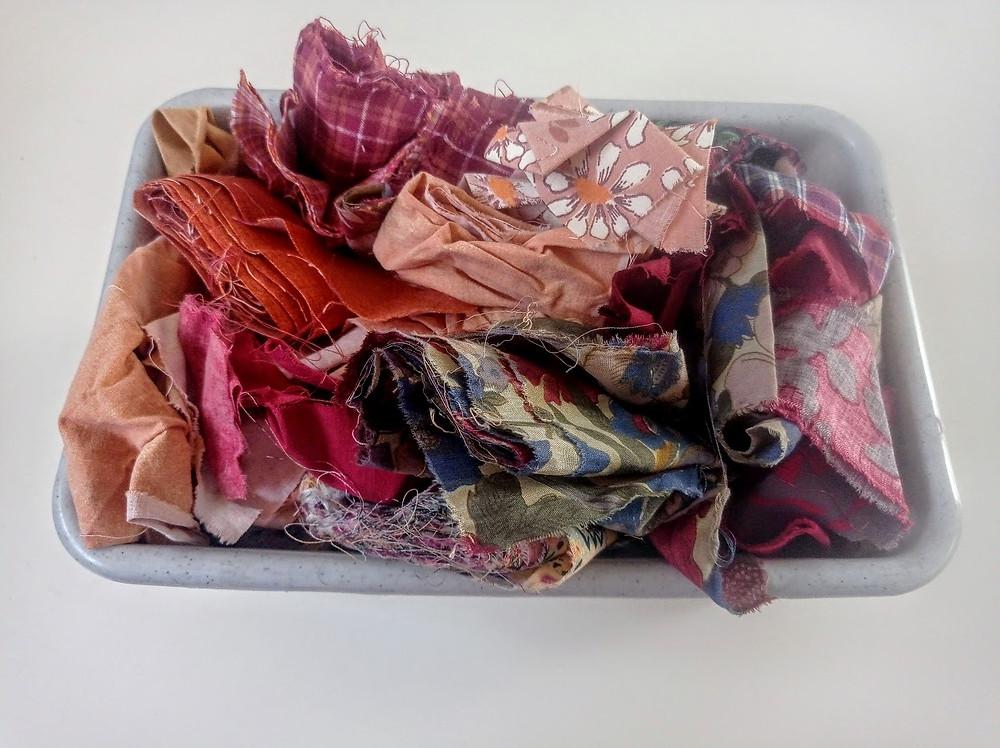 Autumn fabric selection
