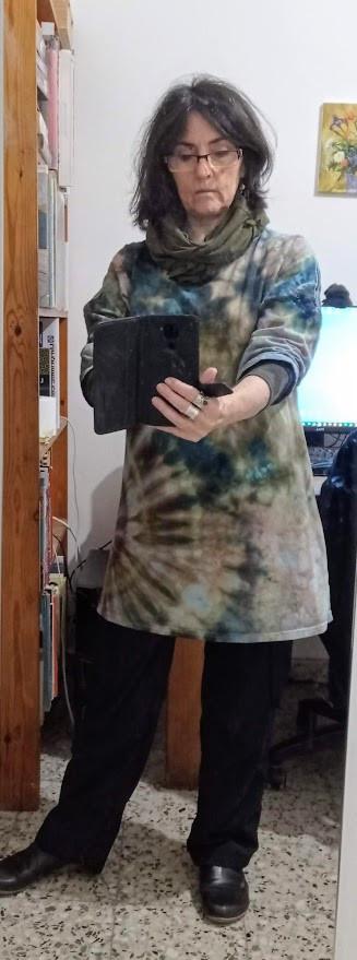 Camo t shirt tunic