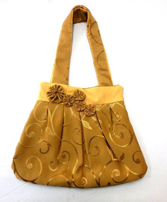 Yoyo adorned bag