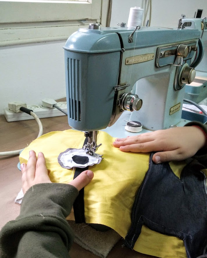 Sewing the eye