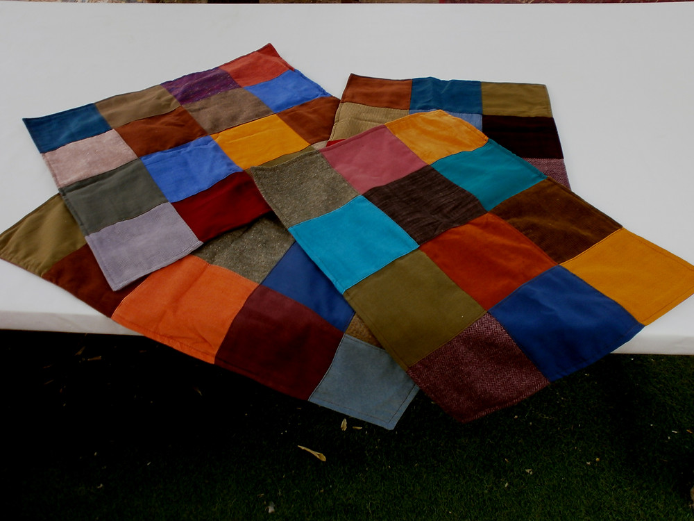 Gypsy patchwork pillows