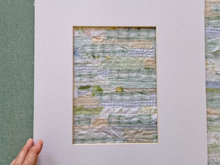 Creating New Fabric from Scraps