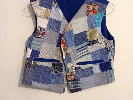Patchwork Vests