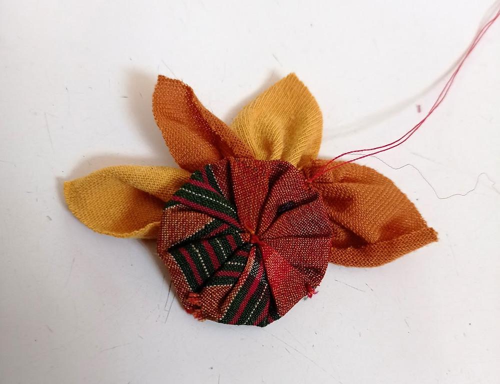 Creating petals