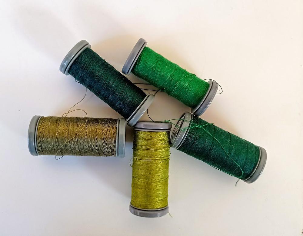 Green machine threads