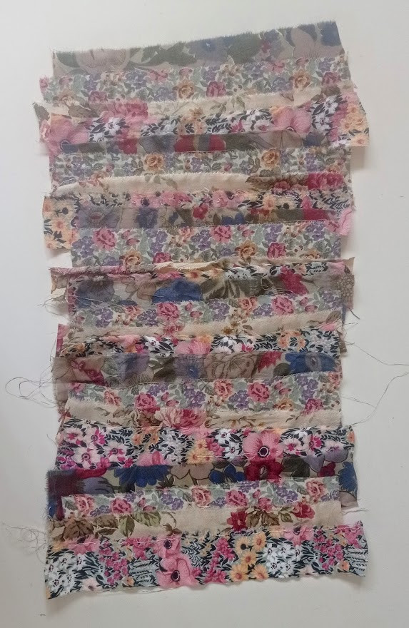 The floral strips
