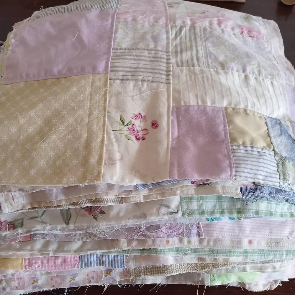 Crumb spring sq feet of fabric