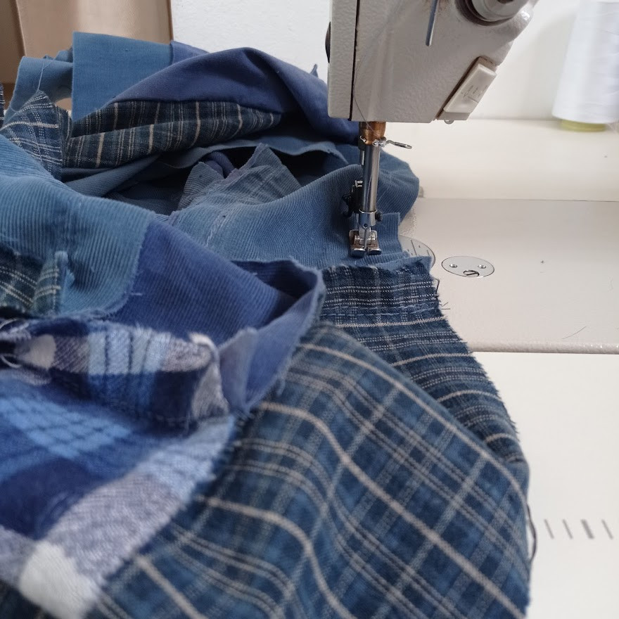 Stitching strips and rectangles