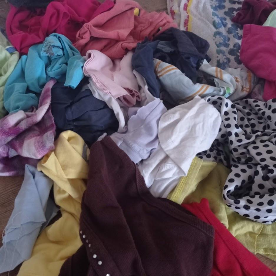 T shirt scraps
