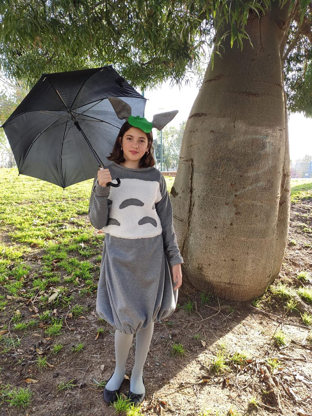 Totoro costume for purim