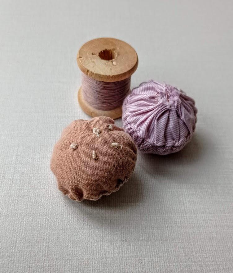 Fabric mushrooms