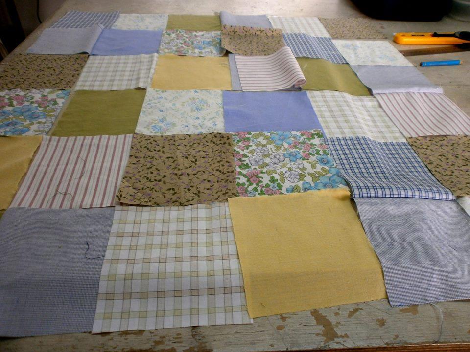 Vintage patchwork - טלאים